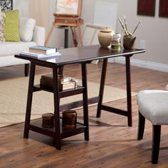 Southern Enterprises Braxton Laptop/Writing Desk - HO9246