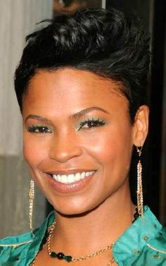 ok short hair on Nia Long,  Hallie Berry and Jada Pinkett Smith works for me.