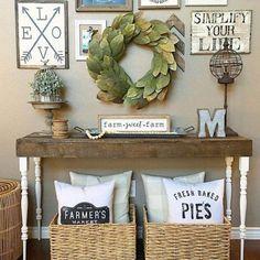 Marvelous Farmhouse Style Home Decor Idea (39)