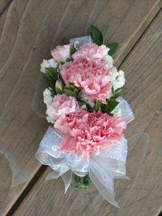 mini carnation corsage - Google Search