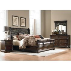 Found it at Wayfair - Arbor Place Sleigh Customizable Bedroom Set