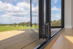 Find out more about the options for thresholds on Origin's Bi-fold Doors & how low thresholds create a seamless transition between outside and in. Garden S, Home And Garden, Seamless Transition, External Doors, Folding Doors, The Originals, Design, Accordion Doors, Outdoor Gates