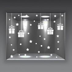 vetrofanie natale wall sticker adesivo vetrine negozio 64 pz neve pacchi stelle | Commercio, ufficio e industria, Commercio al dettaglio, Arredo vetrine | eBay! Diy Christmas Crafts To Sell, Grinch Christmas Decorations, Christmas Store, Christmas Tree Ornaments, Christmas Window Display, Theme Noel, Aliexpress Mobile, Ideas, Boutique