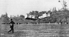 aviation photo originaleEN 1903, L'HOMME VOLE!