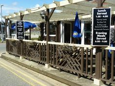 The Dunes Bar at Camber Sands, just a few minutes walk from our holiday cottages. Places To Eat, Great Places, Camber Sands, Decking Area, Bar Restaurant, The Dunes, Enjoy It, Evening Meals, Rye