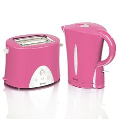 Swan Kettle & Toaster Twin Pack Pink STP100PIN at wilko.com