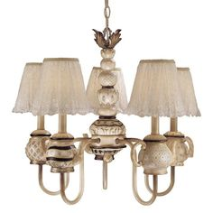 View the Minka Lavery ML 3130 5 Light 1 Tier Chandelier from the Mini Chandeliers Collection at LightingDirect.com.