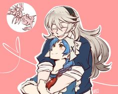 Fire Emblem Fates - Corrin and Lilith