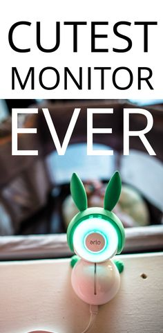 This baby monitor would be such a great baby shower gift for new parents who are into smart home and tech stuff!