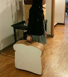 Finally! A way to transport all of my bread needs in one bag that won't get mixed up with my other bags! Haha