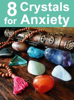 Crystals for Anxiety: Use these calming crystals to calm your mind, stay centred and bring back your chill. Crystal healing tips, crystal guide, crystal blog #crystals                                                                                                                                                                                 More