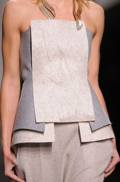 Vionnet at Paris Fashion Week Fall 2014 - StyleBistro