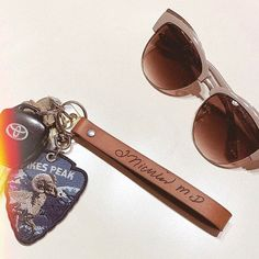Handwriting Keychain, Custom Actual Handwriting Laser Engraved on our Leather Keychain, Memorial Key Fob from a Loved Ones Signature Custom Leather Bracelets, Leather Keychain, Id Bracelets, Leather Conditioner, Personalized Bracelets, Sentimental Gifts, Key Fobs, Vegetable Tanned Leather, Beautiful Christmas