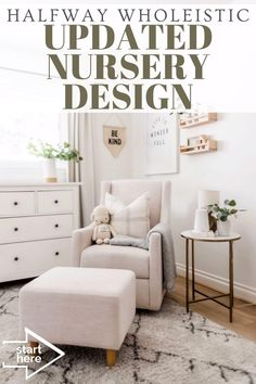 Click here to see this nursery reveal on Halfway Wholeistic! Boy nursery ideas themes color schemes inspiration boards. Nursery ideas neutral color palettes inspiration. Nursery decor boy grey room ideas. Nursery ideas neutral gray and white. Baby boy nursery room ideas themes color schemes. Nursery ideas boy rustic modern. Nursery decor neutral paint colors. Baby nursery ideas neutral grey room decor. Gender neutral nursery decor ideas. #nursery #home #decor Neutral Nursery Colors, Baby Room Neutral, Neutral Paint, Gender Neutral, Nursery Decor Boy, Nursery Design, Nursery Room, Nursery Ideas, Bedroom Decor For Couples Romantic