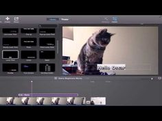 iMovie 10 Tutorial: Beginners and Basics - YouTube