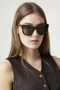 sadie cateye sunglasses - topshop.