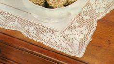 Professione Donna: Schemi per il filet: Striscia di lino con bordo a filet