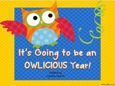 Back-to-School Owl Theme from Cynthias Pad on TeachersNotebook.com (42 pages)
