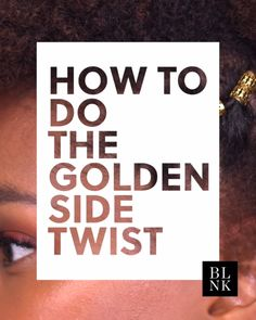 How to Elevate a Side Twist. #blinkbeauty #hairtutorials