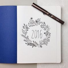Image result for bullet journal first page