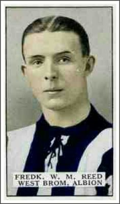 Fred Reed of West Brom in 1923.