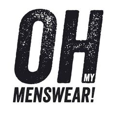 Oh My Menswear!  http://www.ohmymenswear.com/