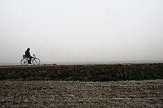 Biking in the fog
