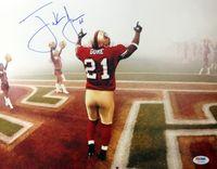 Frank Gore Autographed San Francisco 49ers 11x14 Photo PSA/DNA