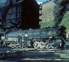 Rio Grande's articiulated engines were gorgeous. The engine facilities at the feet of Tennessee Pass were the home for the 2-8-8-2's. If I have a time machine, I'd spend a month there in the late 1940s.