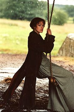 pride & prejudice - Keira Knightley as Elizabeth Bennet - based on the novel by Jane Austen Keira Knightley, Keira Christina Knightley, Little Dorrit, Pride And Prejudice 2005, Pride And Prejudice Elizabeth, Jane Austen Books, I Love Cinema, Mr Darcy, Matthew Macfadyen