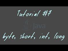 Tutorial #7 - byte, short, int, long - JAVA Anfänger