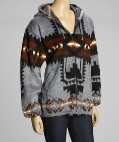 This looks so comfy and cozy! Take a look at this Charcoal Southwest Zip-Up Hoodie by EARTH RAGZ on today! Fall Outfits, Fashion Outfits, Womens Fashion, Preppy Casual, Prom Dresses For Sale, Dress Me Up, My Wardrobe, Autumn Winter Fashion, Style