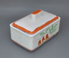 Villeroy & Boch Torgau Art Deco keramiky Deckeldose Riva forma Dortmund