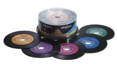 Verbatim Digital Vinyl CD-R(TM) 80MIN 700MB 25pk Spindle: Amazon.fr: High-tech