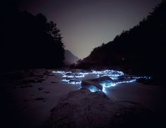 """Starry Night"" light installation by Lee Eunyeol"