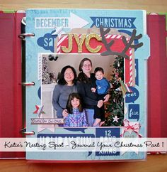 Katie's Nesting Spot: Journal Your Christmas 2013 Introduction   Great JYC daily pages