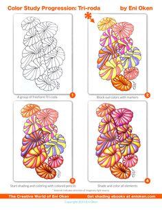 Freeform Tri-roda Color studies