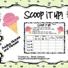 Scoop it up!  Counting Nickels and Pennies!  Freebie!