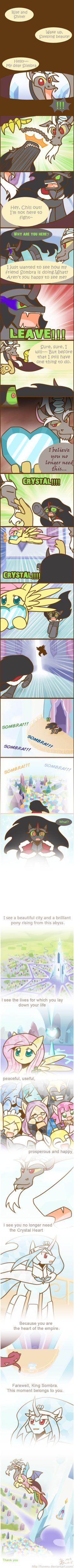 Reforming sequel Sombra by HowXu.deviantart.com on @deviantART