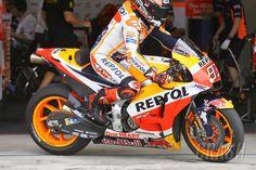 MotoGP: PIC: Honda's carbon fibre swingarm