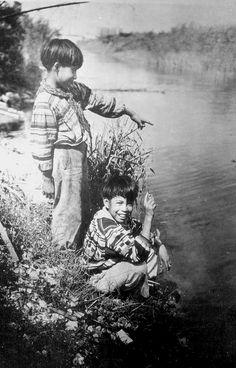 Seminole boys near Miami