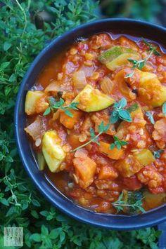 wegefaza: Gulasz warzywny z soczewicą