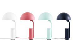 Cap Table Lamp White by Normann Copenhagen