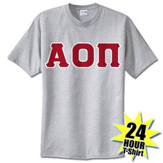 Alpha Omicron Pi Sorority 24-Hour Tee