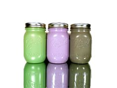 Painted Ball Jars