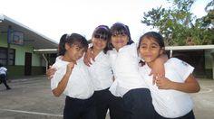 Costa Rica. March 2013. School Girls.   www.travel4souls.org
