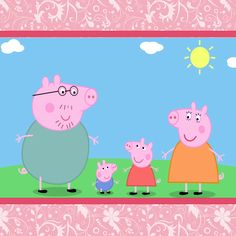 Find the best Peppa Pig HD Wallpaper on GetWallpapers. We have background pictures for you! Peppa Pig Theme Park, Peppa Pig Background, Peppa Pig Wallpaper, Pig Png, Peppa Big, Peppa Pig Printables, George Pig, Pig Party, Year Of The Pig