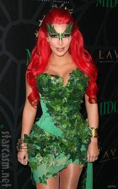 Poison Ivy costume  sc 1 st  Pinterest & Poison ivy lips u2026 | poison iu2026