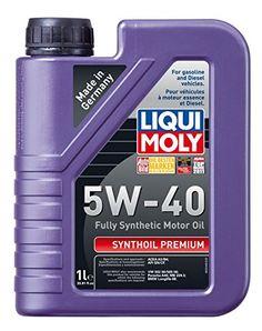 Liqui+Moly+(2040-12PK)+Premium+5W-40+Synthetic+Motor+Oil+–+1+Liter,+(Pack+of+12)