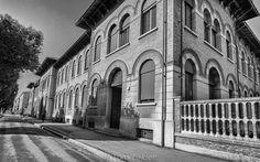 """""""Rationalist #architecture along Viale della Libertà in #Forlì"""" by @Anita's Feast @TomFakler Photo"""